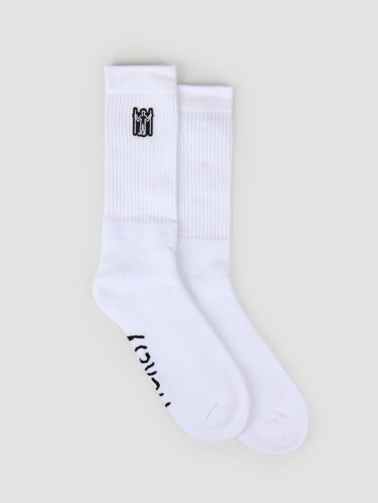 Heresy Hill Giant Socks White HSS19-A04