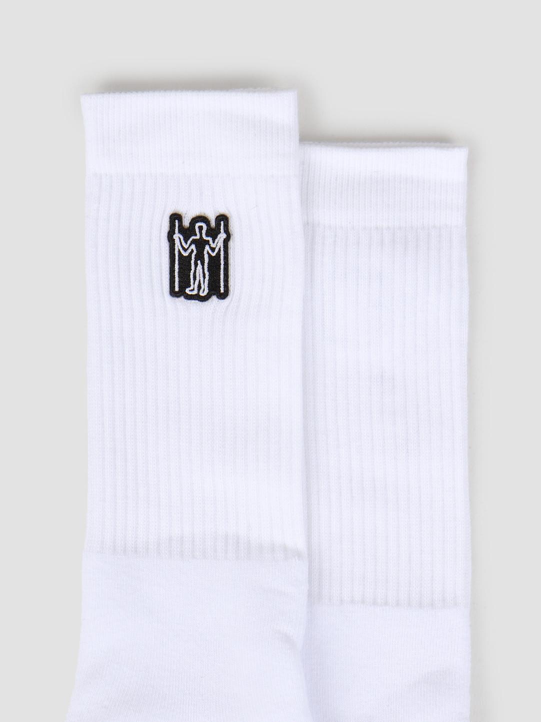 Heresy Heresy Hill Giant Socks White HSS19-A04