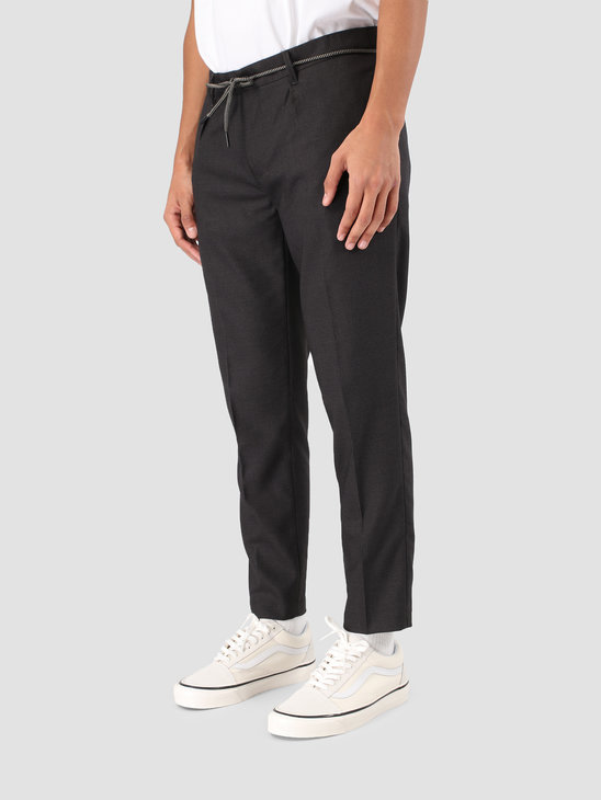 Wemoto Daniel Pants Dark Grey Melange 131.704-312