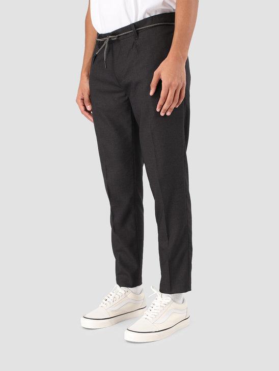 Wemoto Daniel Pants Dark Grey Melange 131.704-312