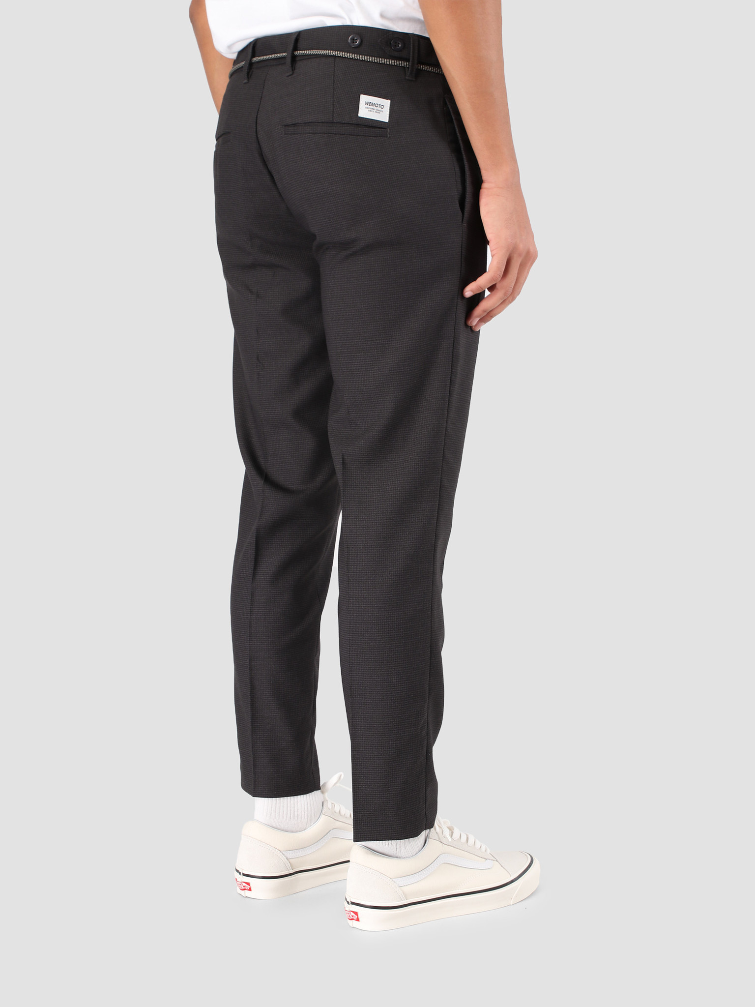 Wemoto Wemoto Daniel Pants Dark Grey Melange 131.704-312