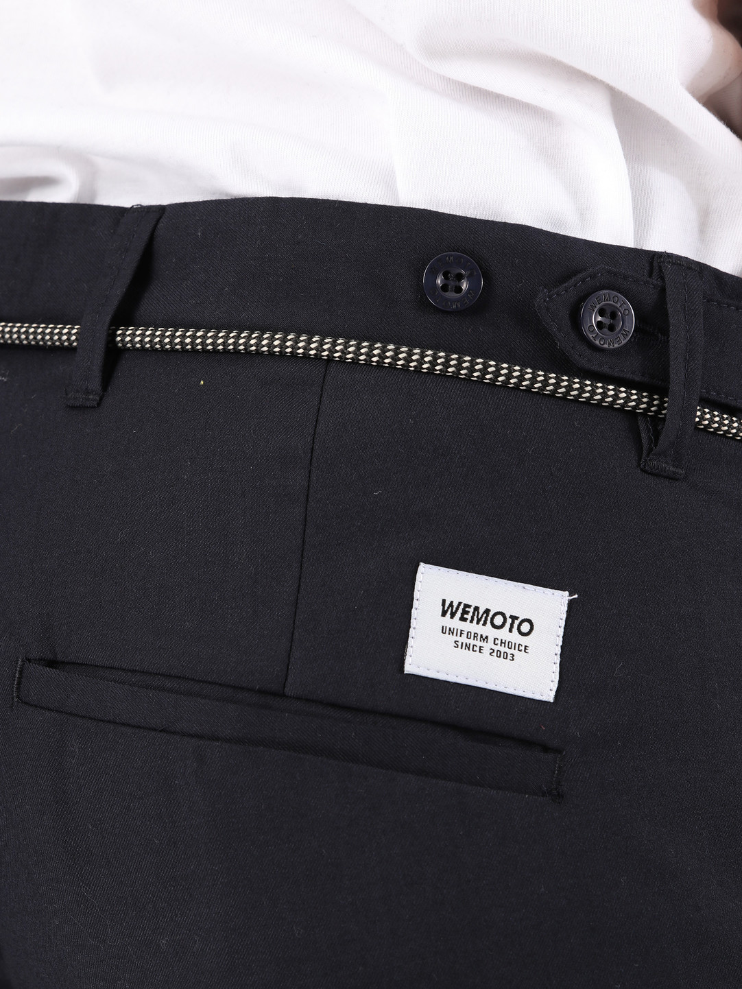 Wemoto Wemoto Daniel Pants Navy Blue 131.704-400