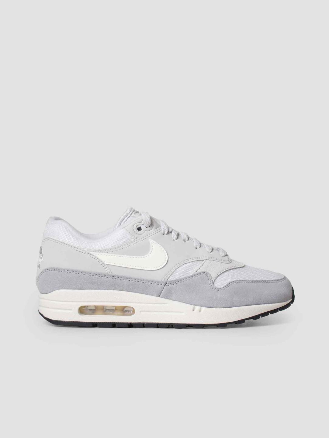 5d4416aef36 Nike Nike Air Max 1 Shoe Vast Grey Sail-Sail-Wolf Grey Ah8145-