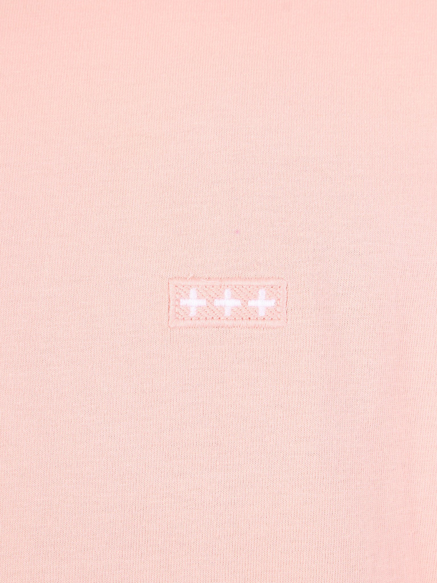 Quality Blanks Quality Blanks QB03 Patch Logo T-shirt Peach Melba