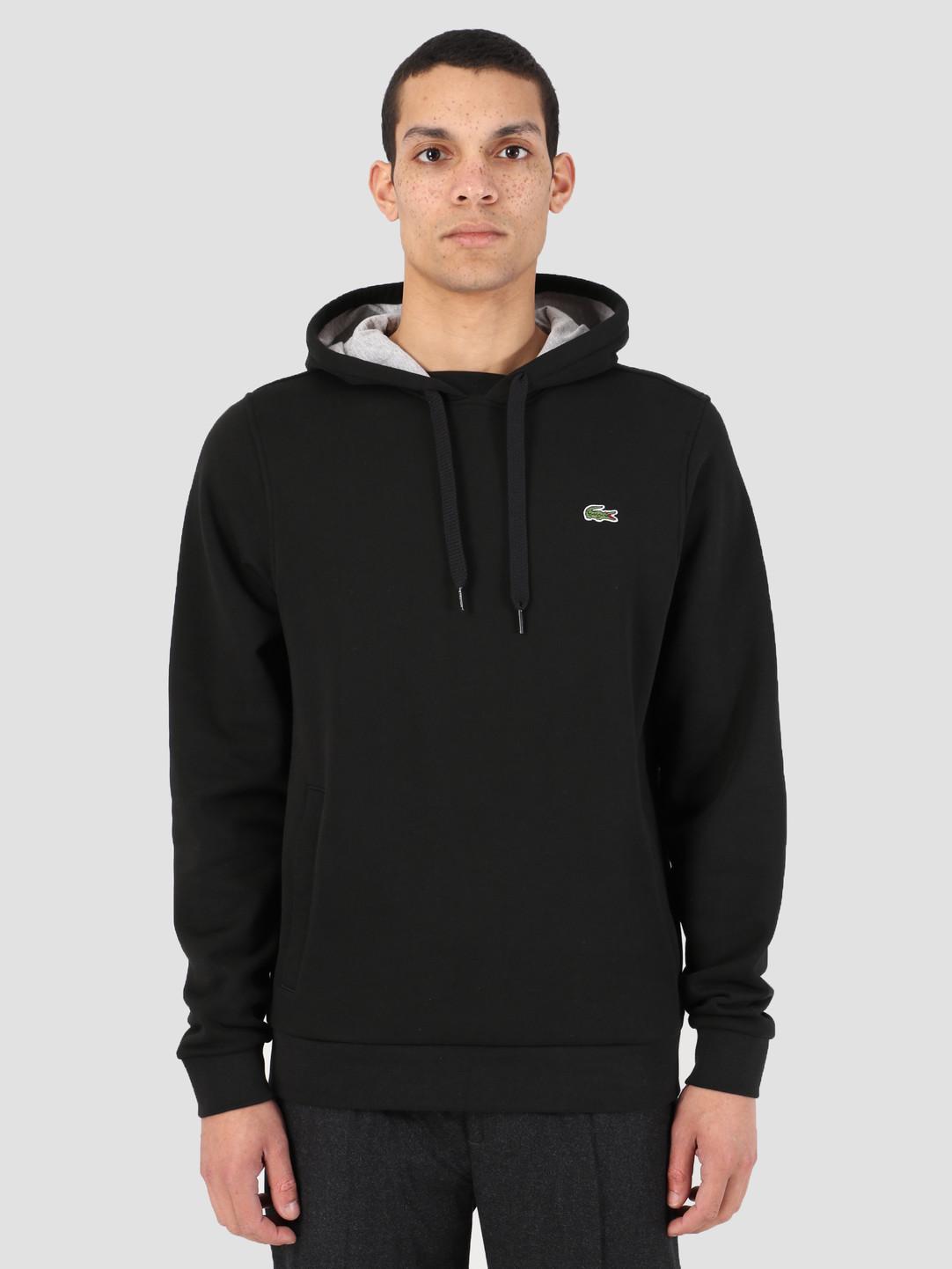 Lacoste Lacoste 1HS1 Sweatshirt 07A Noir Argent Chine Sh2128-83
