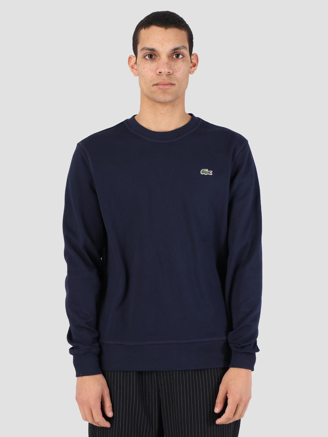 83 1hs1 Sh9075 Lacoste Marine 08a Sweatshirt Mari Rq5A4Lcj3S