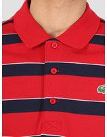 Lacoste Lacoste 1HP3 Polo 06A Phare Marine-Blanc Yh9470-83