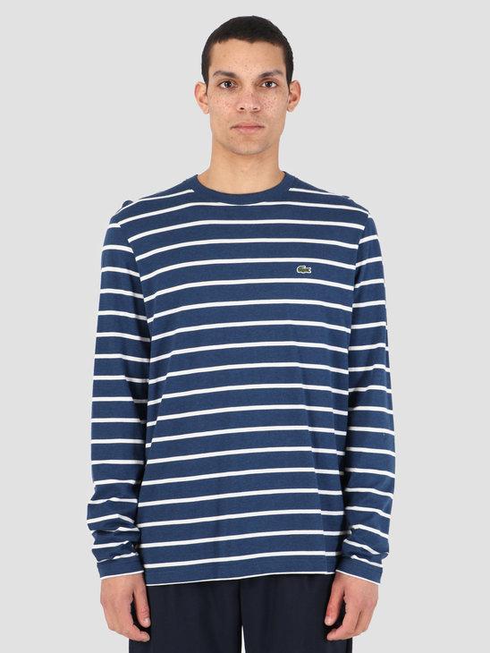 Lacoste 1HT1 T-Shirt 07A Matelot 97E Chine Farine Th9416-83