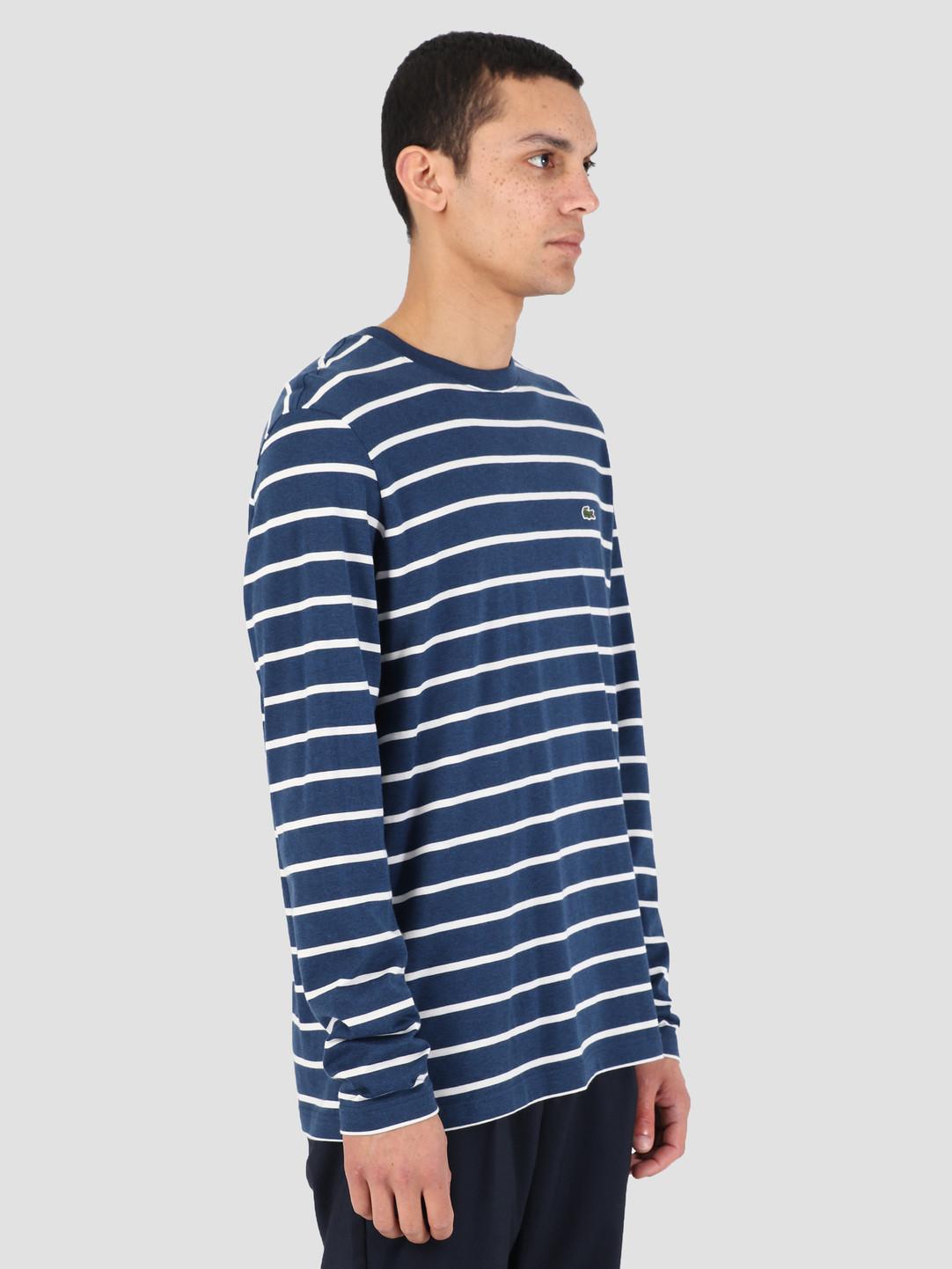 Lacoste Lacoste 1HT1 T-Shirt 07A Matelot 97E Chine Farine Th9416-83