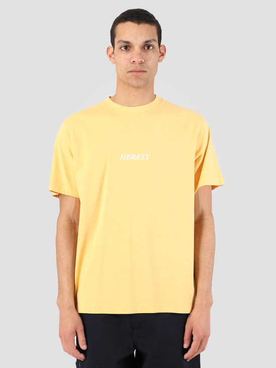 Heresy Sun Rite T-Shirt Yellow HSS19-T02Y