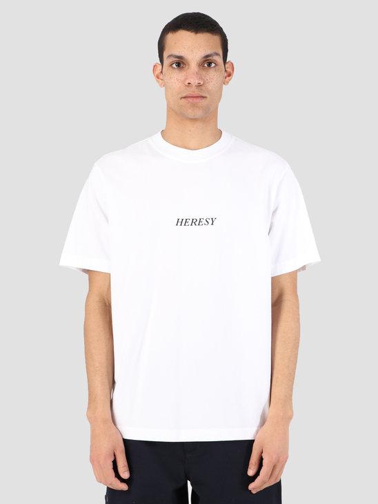 Heresy Sun Rite T-Shirt White HSS19-T02W