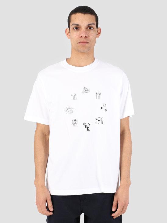 Heresy Emblem T-Shirt White HSS19-T03W