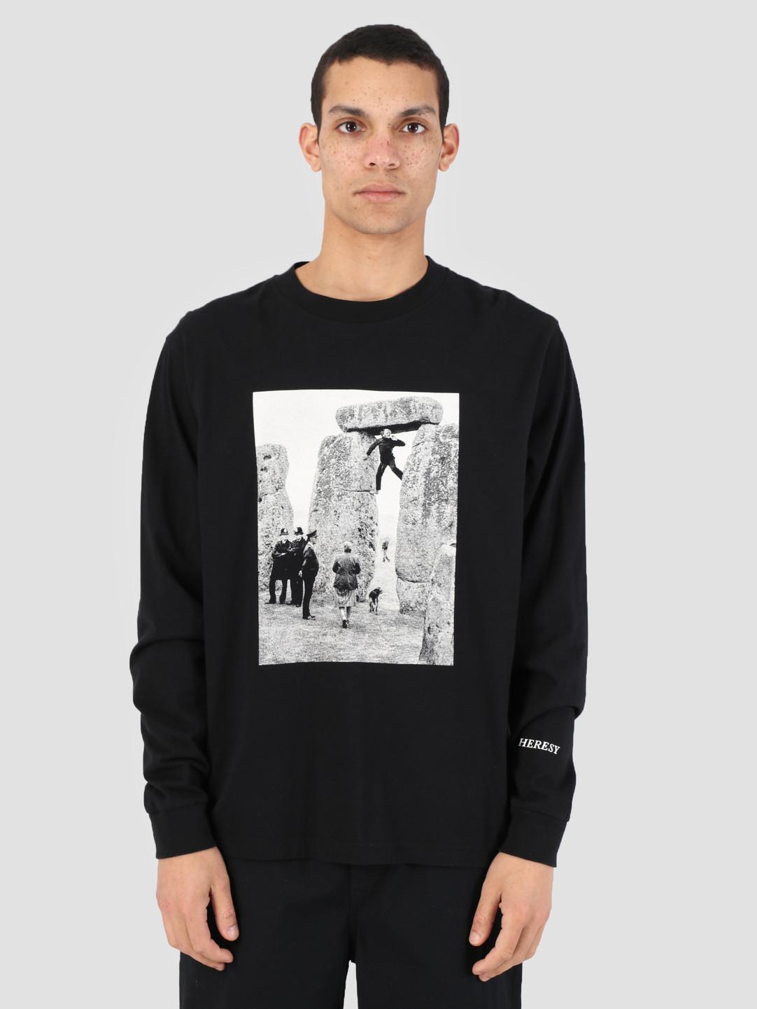 Heresy Heresy Henge T-Shirt Black HSS19-T05B