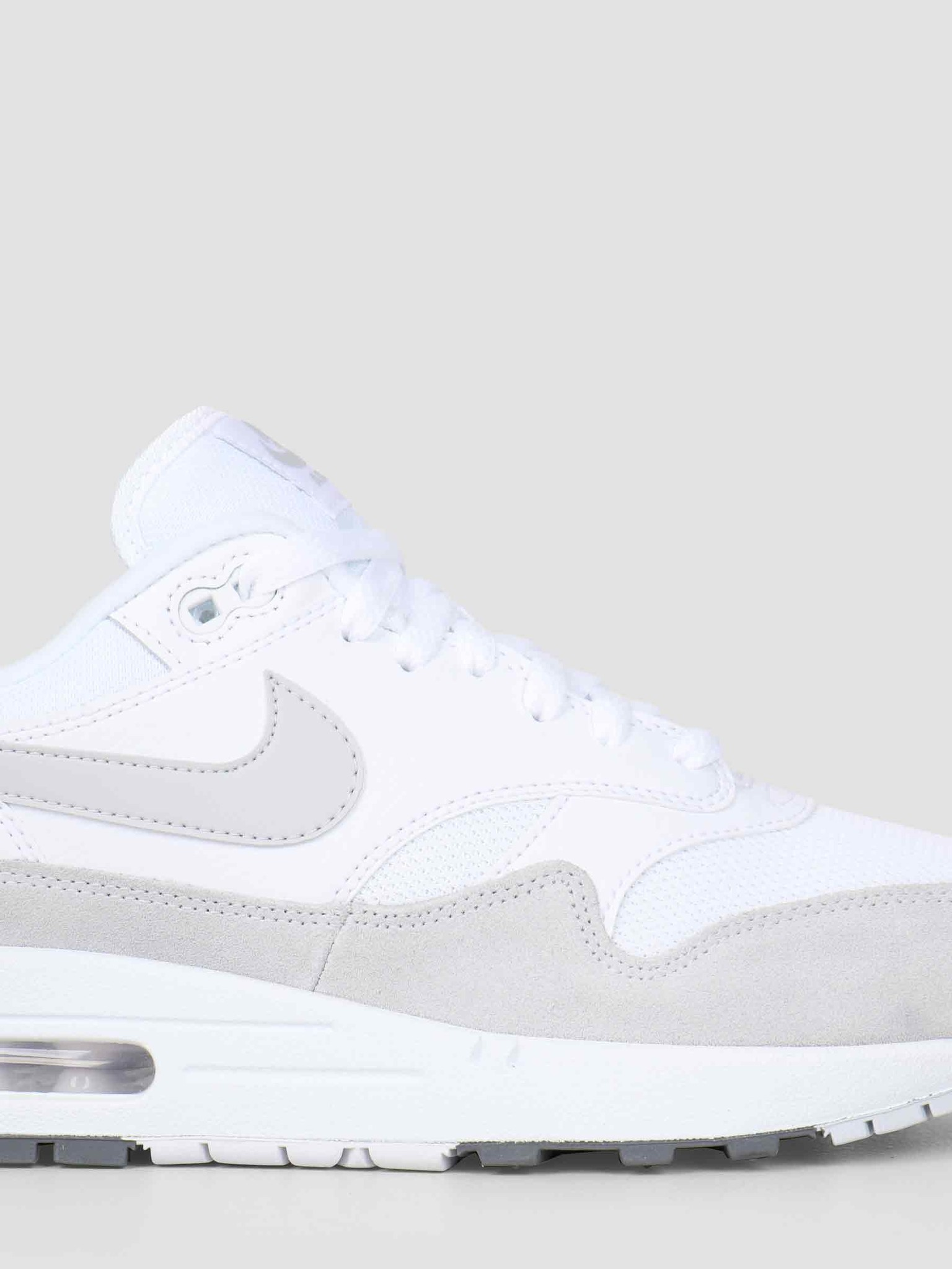 online retailer dcc9c dd6a9 Nike Nike Air Max 1 Shoe White Pure Platinum Cool Grey AH8145-110
