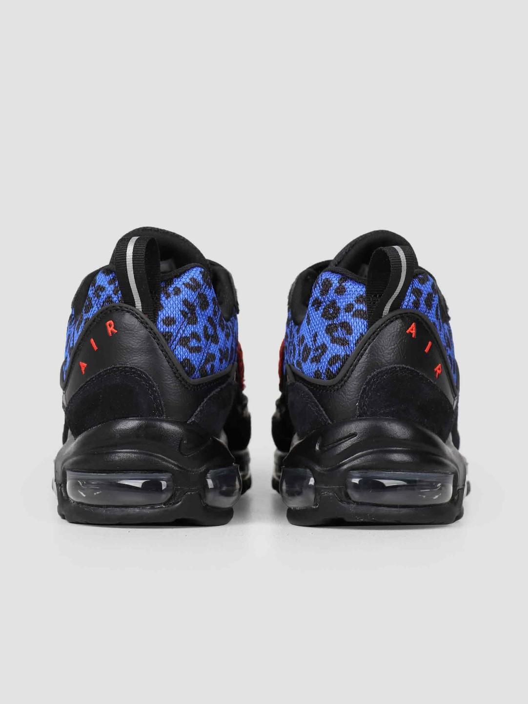 6ceba0661259 Nike Nike Air Max 98 Premium Black Habanero Red Racer Blue BV1978-001