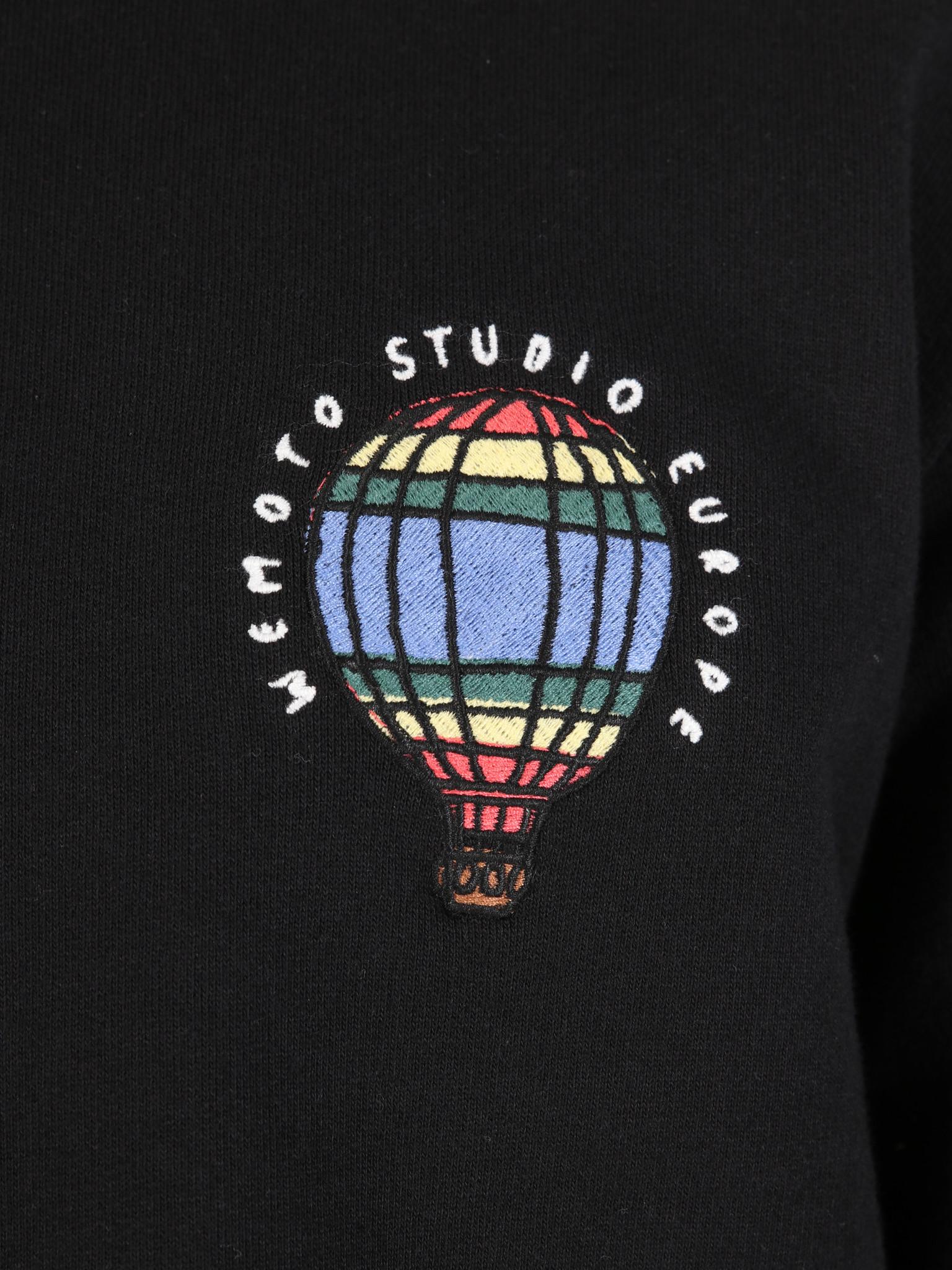 Wemoto Wemoto Ballon Sweater Black 131.417-100