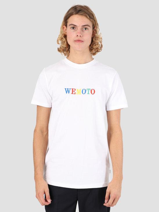 Wemoto Woogle T-Shirt White 131.129-200