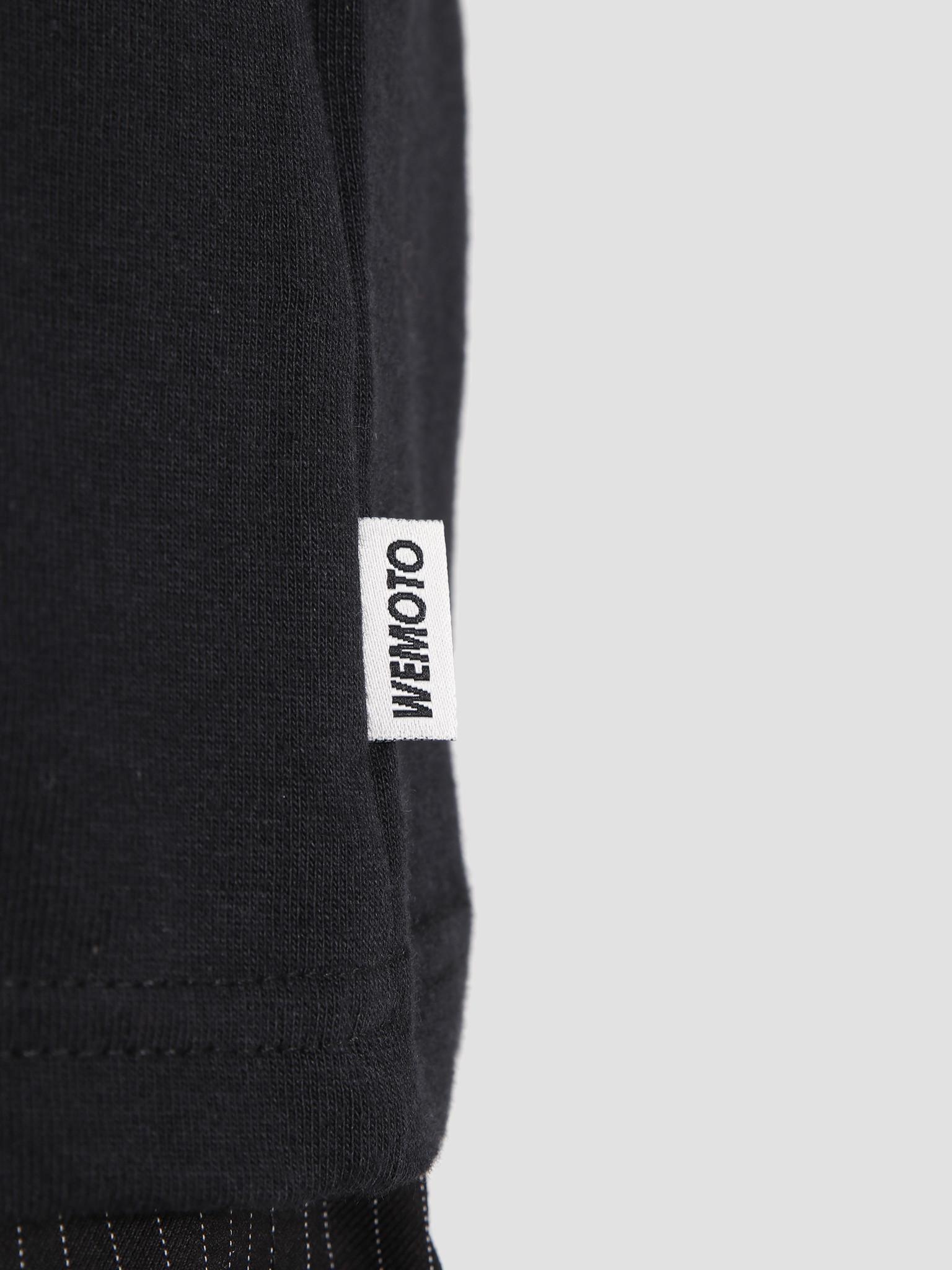 Wemoto Wemoto Woogle T-Shirt Black 131.129-100