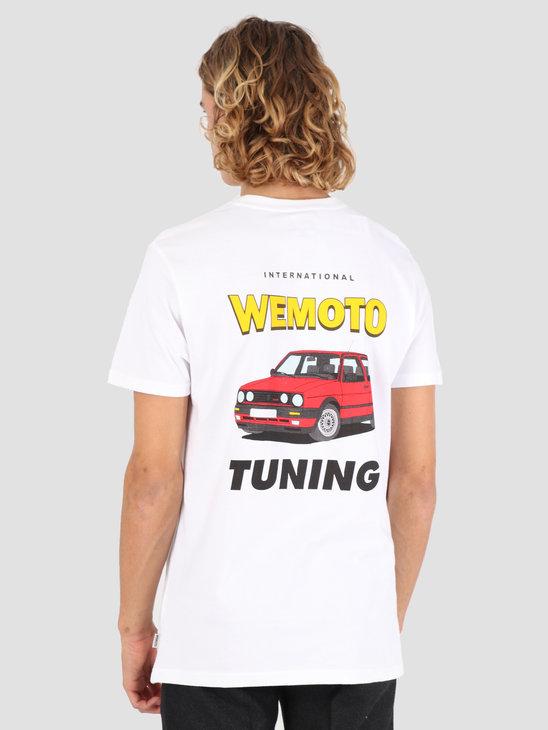 Wemoto Tuning T-Shirt White 131.114-200
