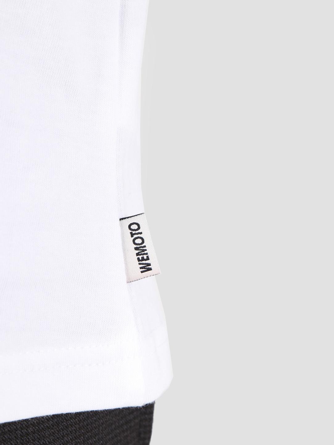 Wemoto Wemoto Chainbound T-Shirt White 131.136-200