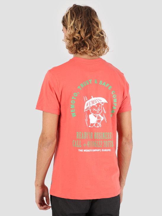 Wemoto Company T-Shirt Emberglow 131.120-559