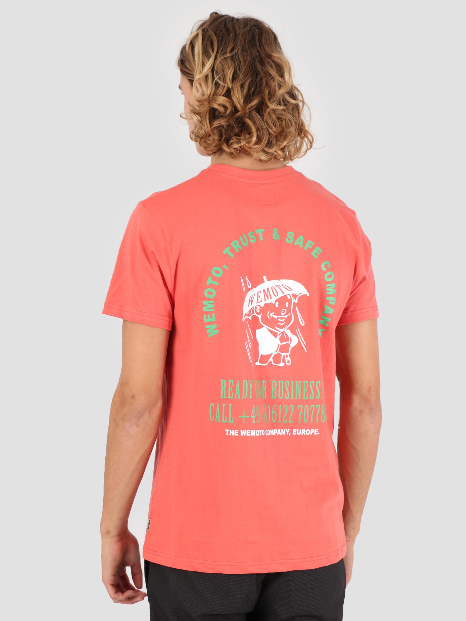Wemoto Wemoto Company T-Shirt Emberglow 131.120-559