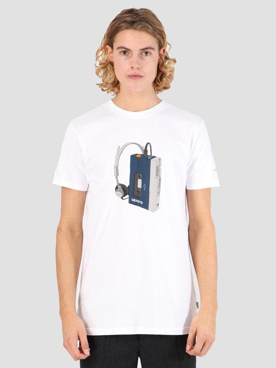 Wemoto Tape T-Shirt White 131.134-200