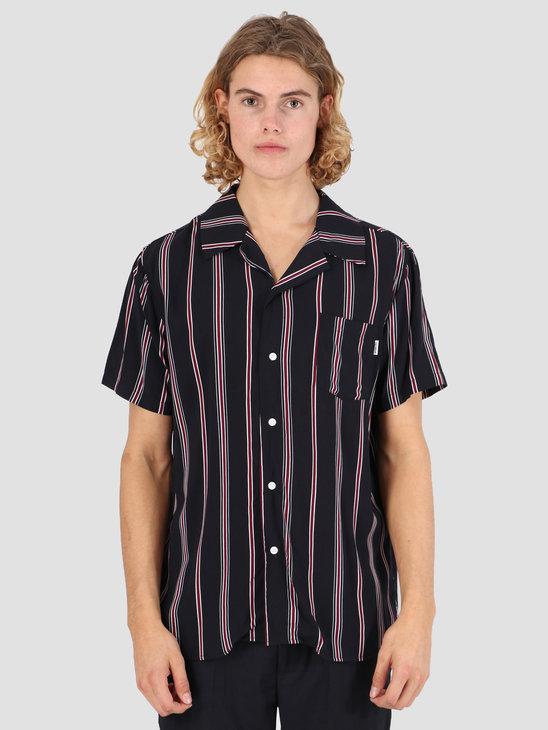 Wemoto Soul Shirt Dark Navy-Burgundy 131.315-441