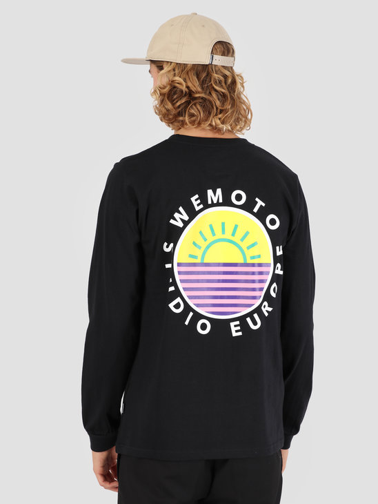 Wemoto Good Life Longsleeve T-Shirt Black 131.115-100