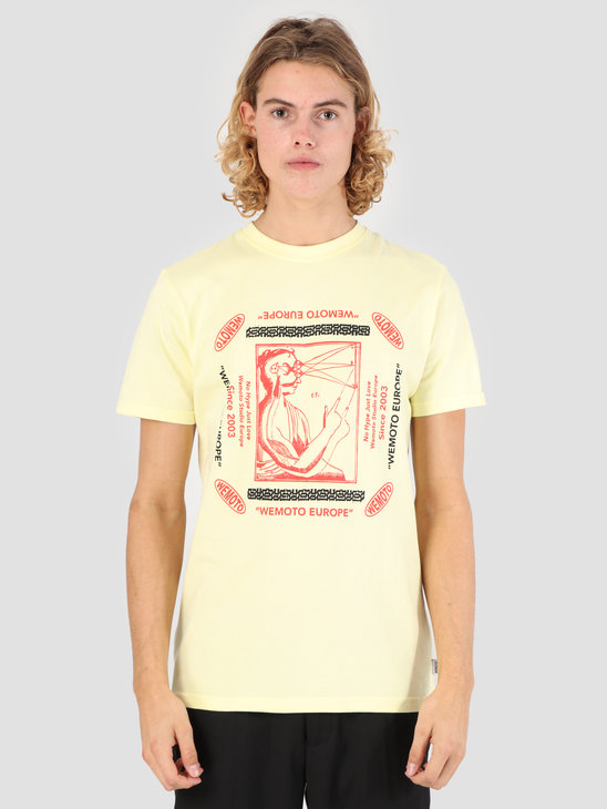 Wemoto Land T-Shirt Tender Yellow 131.122-714