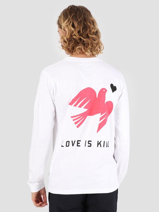 Wemoto Love Longsleeve T-Shirt White 131.130-200