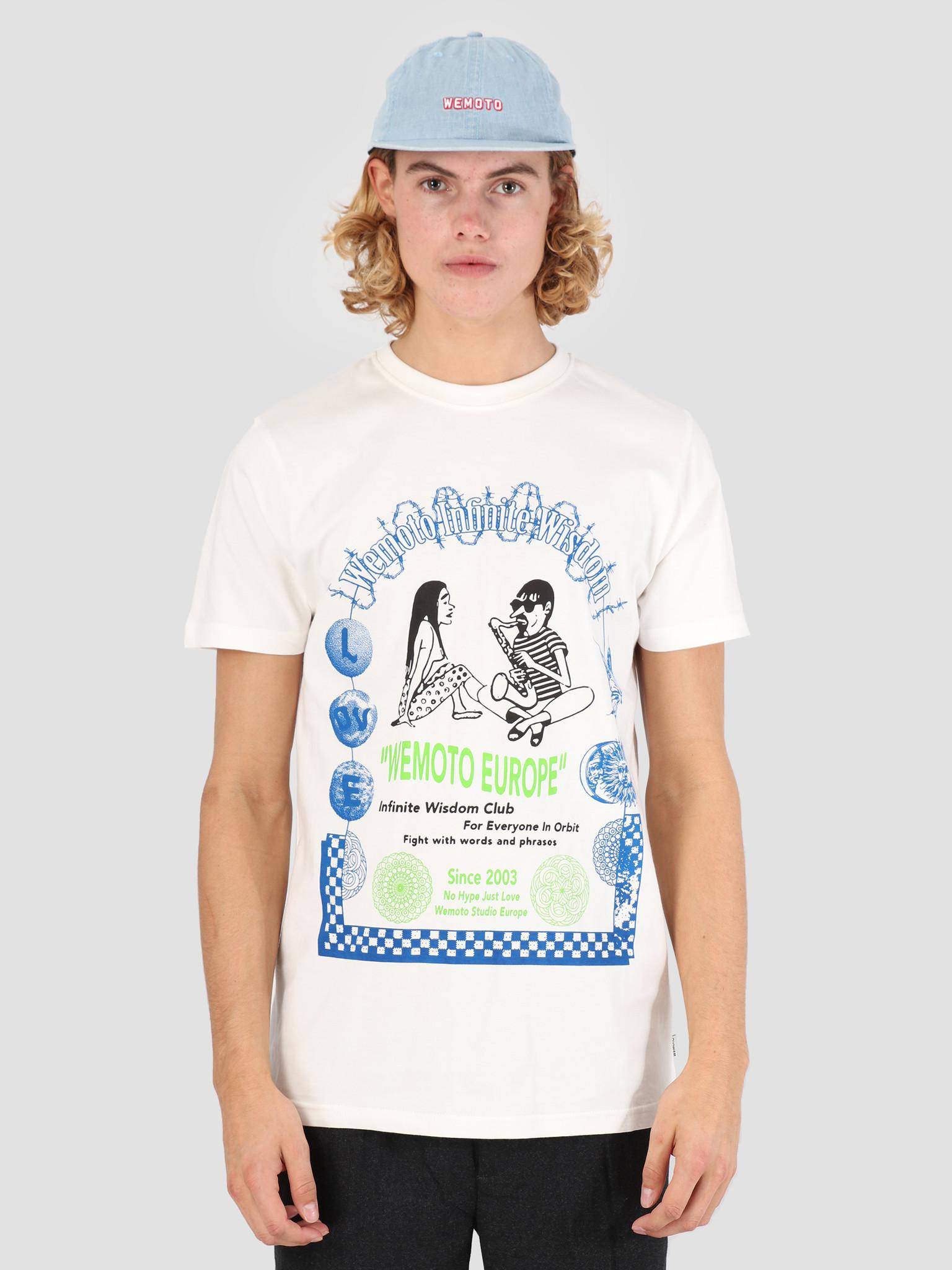 Wemoto Wemoto Orbit T-Shirt Off White 131.124-201