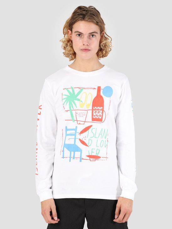 Wemoto Lover Longsleeve T-Shirt White 131.103-200