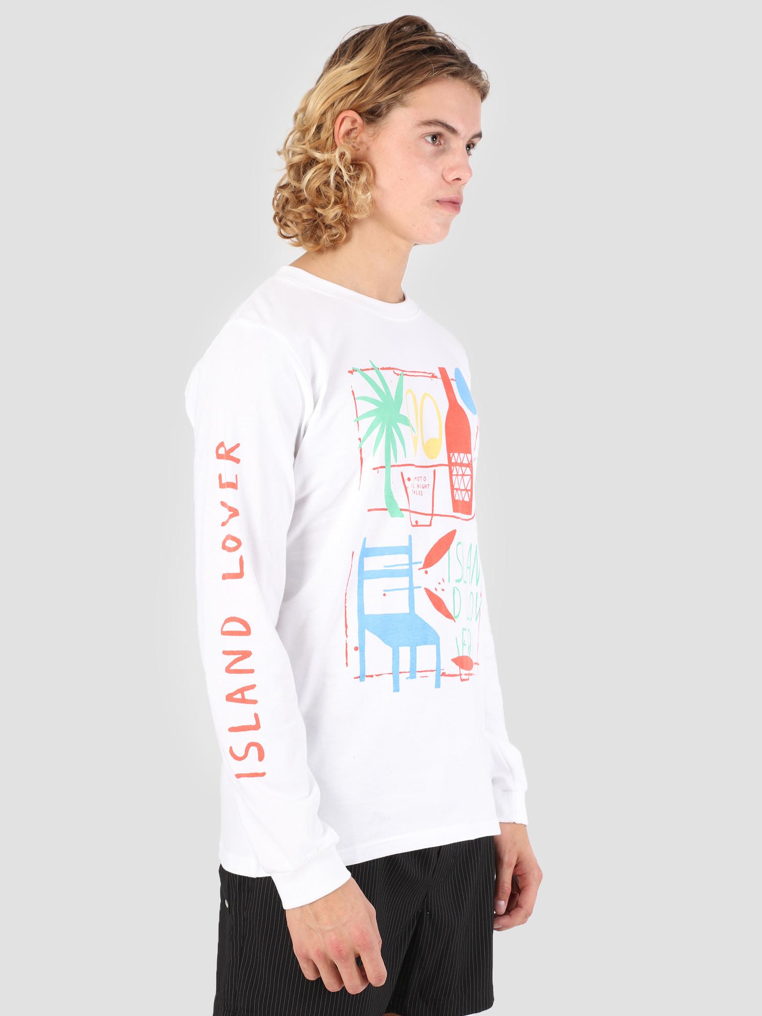 Wemoto Wemoto Lover Longsleeve T-Shirt White 131.103-200