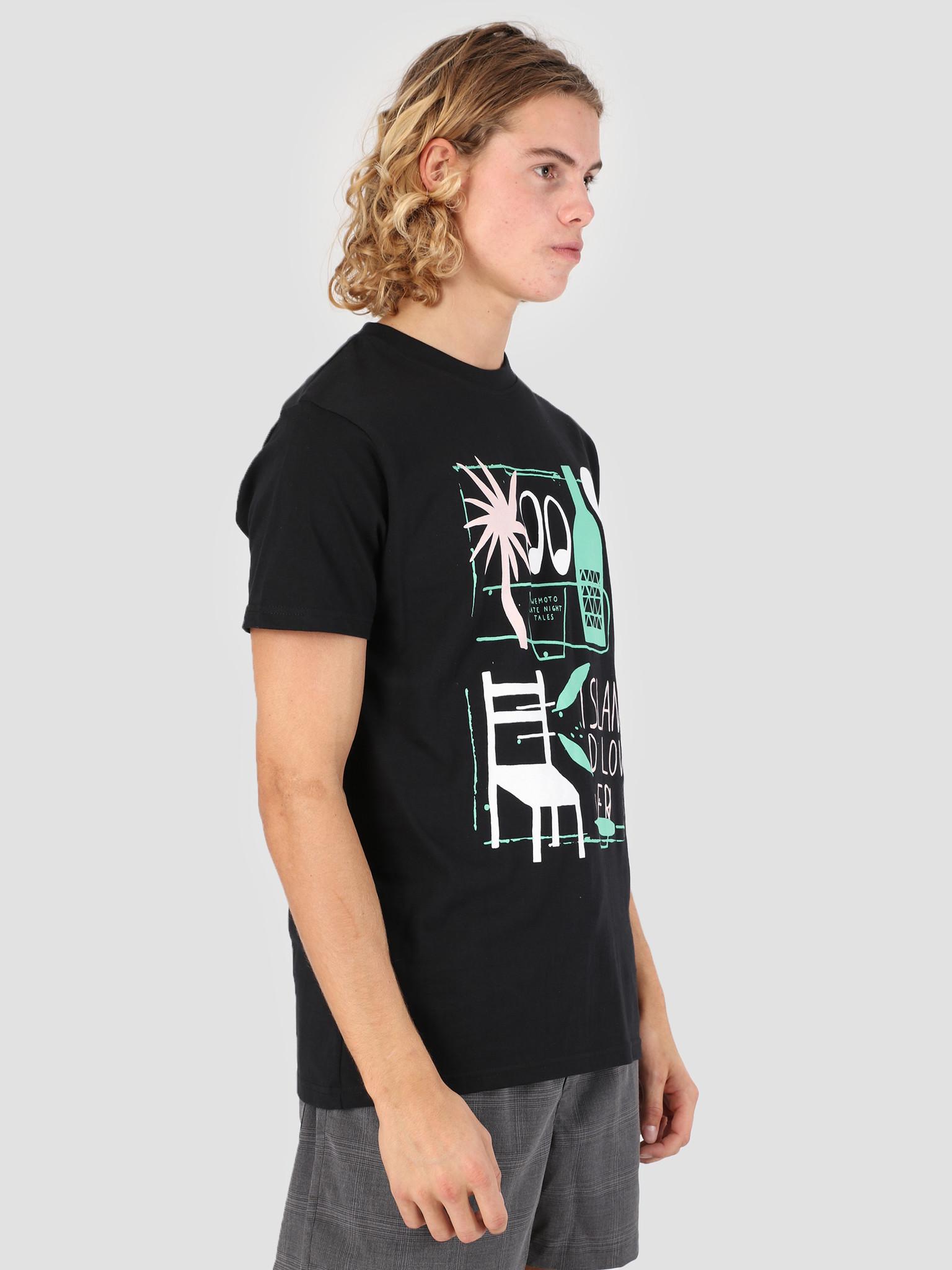 cc05a5bd9c4d Wemoto Lover T-Shirt Black 131.104-100 - FRESHCOTTON