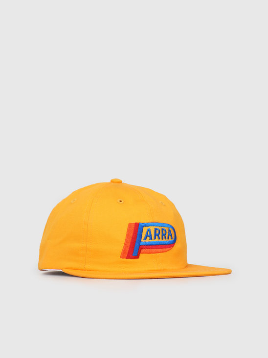 By Parra 6 Panel Hat Garage Oil Gold Yellow 42330