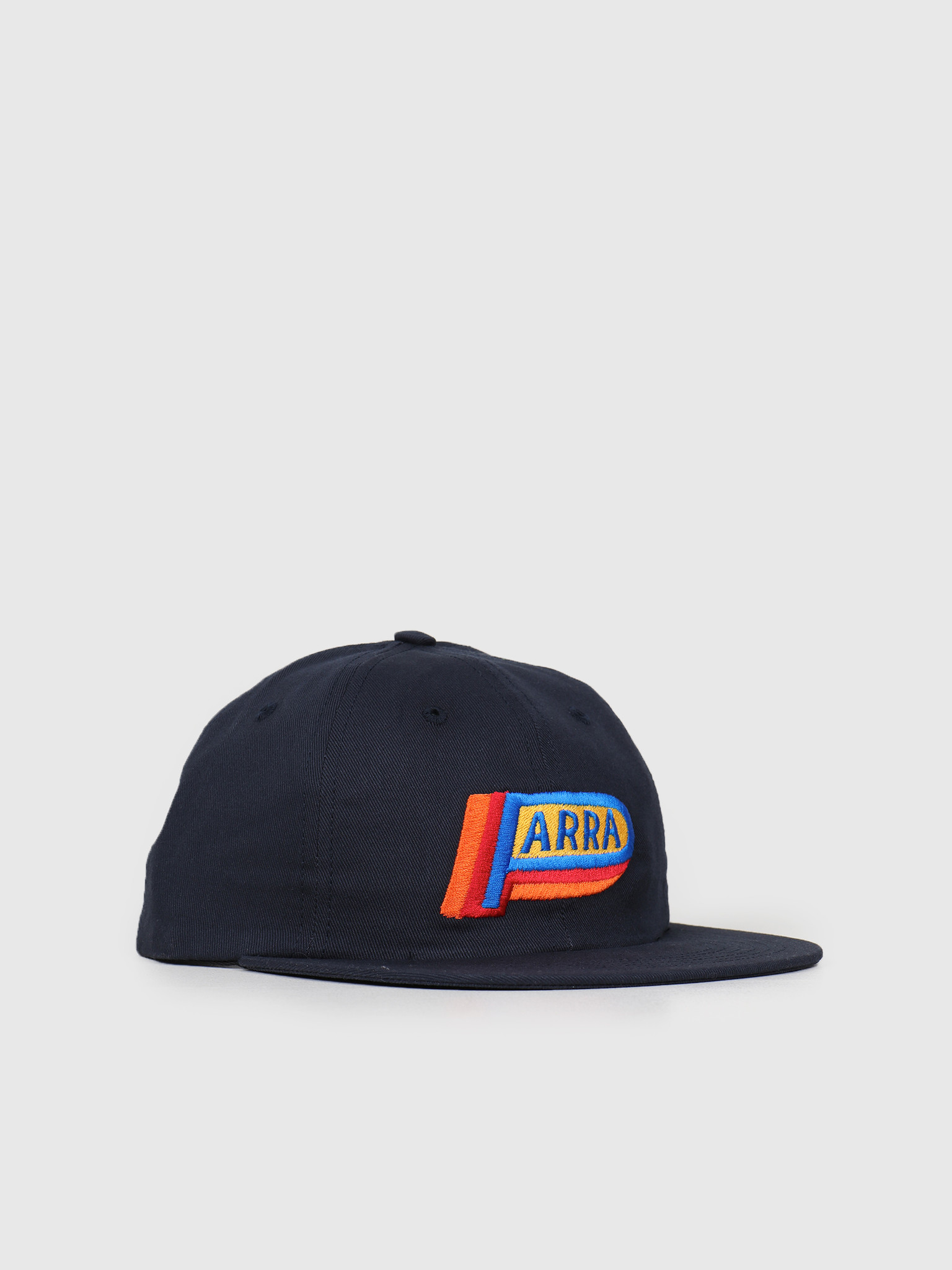 By Parra By Parra 6 Panel Hat Garage Oil Navy Blue 42340