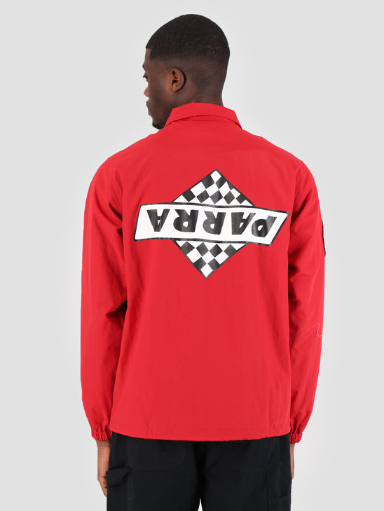 By Parra Coach Jacket Not Racing Red 42310