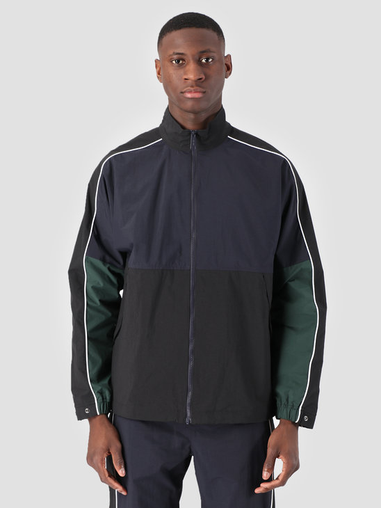 Carhartt WIP Terrace Jacket Dark Navy Black Bottle Green I026251