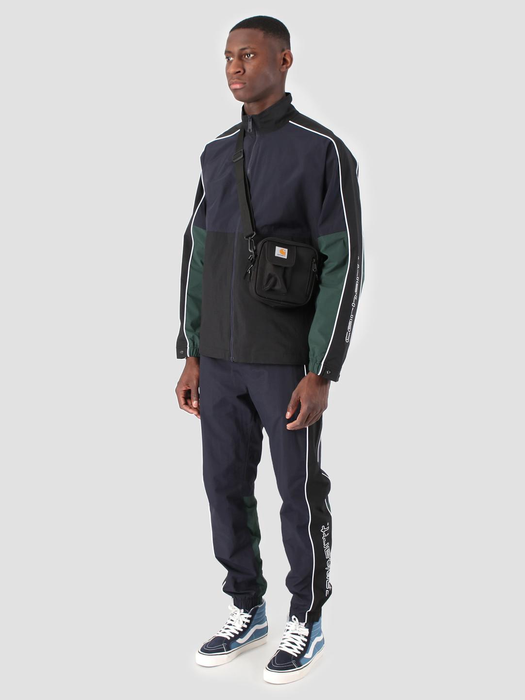 Carhartt WIP Carhartt WIP Terrace Jacket Dark Navy Black Bottle Green I026251
