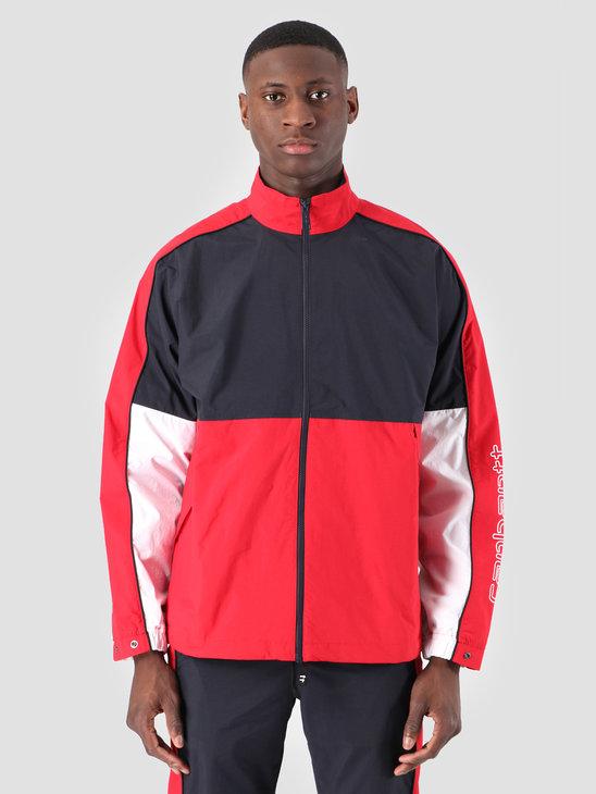 Carhartt WIP Terrace Jacket Dark Navy Cardinal White I026251
