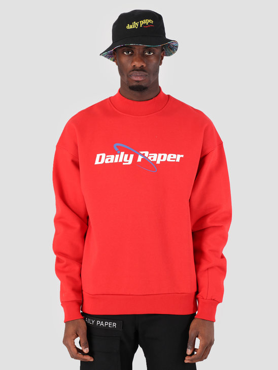 Daily Paper SS19 Essential Sweater Red 19S1SW04-04