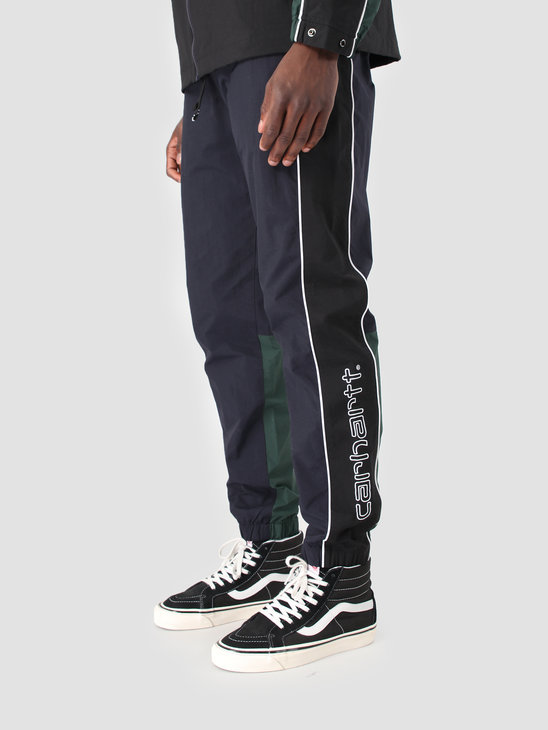 Carhartt WIP Terrace Pant Dark Navy Black Bottle Green I026252
