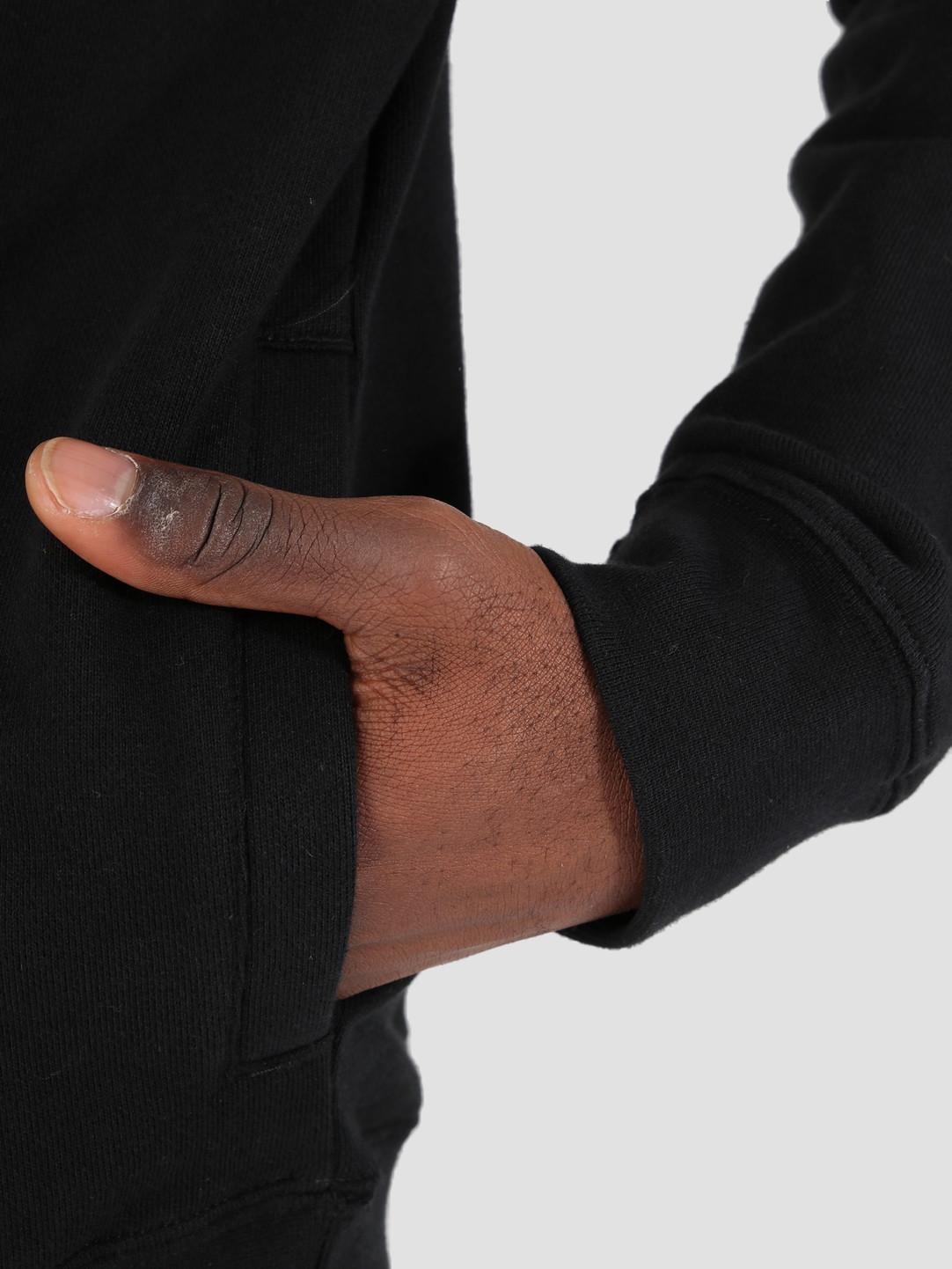 HUF HUF Midtown 1/2 Zip Fleece Black FL00077