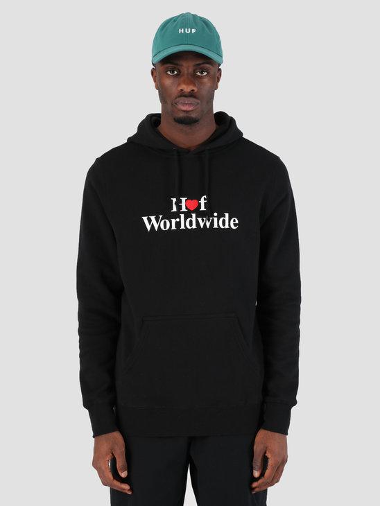 HUF Huf Love Hoodie Black PF00112