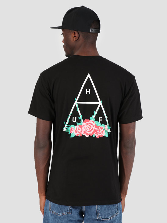 HUF City Rose TT T-Shirt Black TS00574