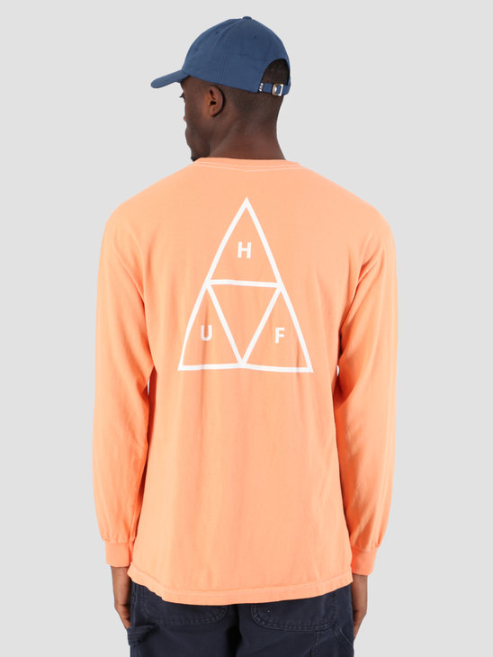 HUF Essentials TT Longsleeve Canyon Sunset TS00506