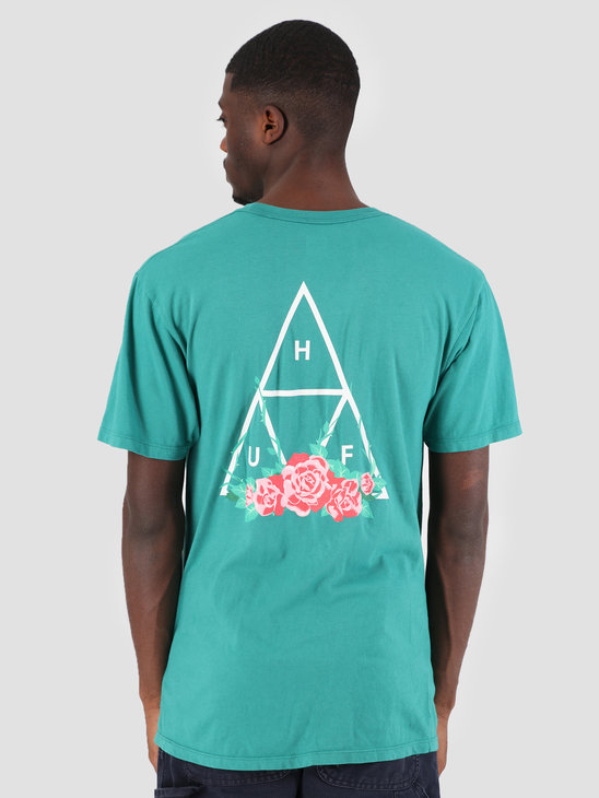 HUF City Rose TT T-Shirt Deep Jungle TS00574