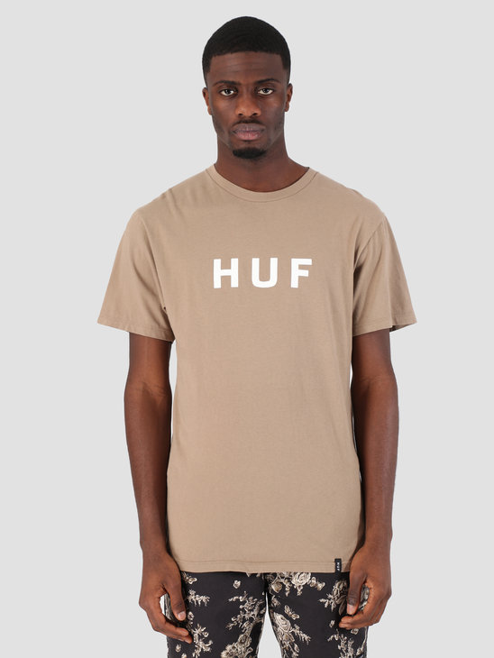HUF Essentials OG Logo T-Shirt Elmwood TS00508