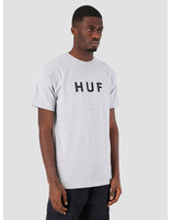 HUF HUF Essentials OG Logo T-Shirt Grey Heather TS00508